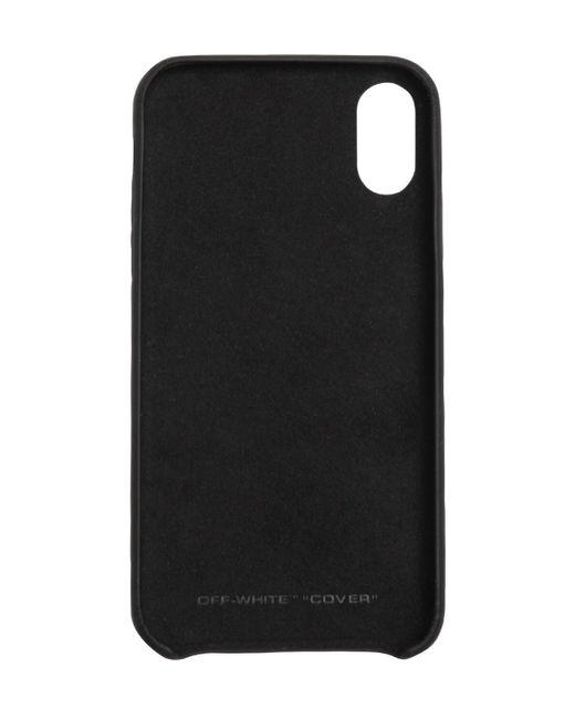 Чехол Для Iphone X/xs Off-White c/o Virgil Abloh для него, цвет: Black