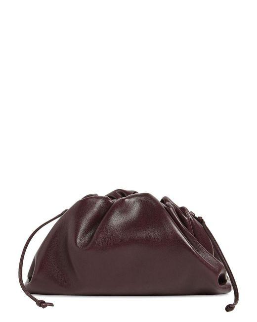 """Bottega Veneta Brown Tasche Aus Leder """"the Mini Pouch"""""""