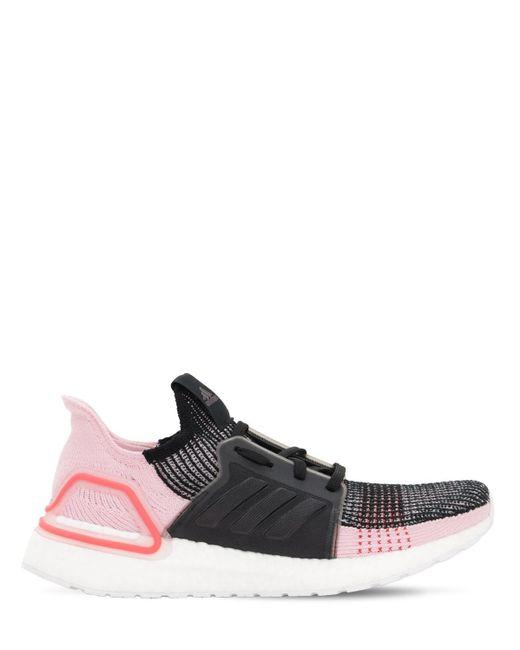 Adidas Originals Ultraboost 19 Primeknit ランニングスニーカー Black