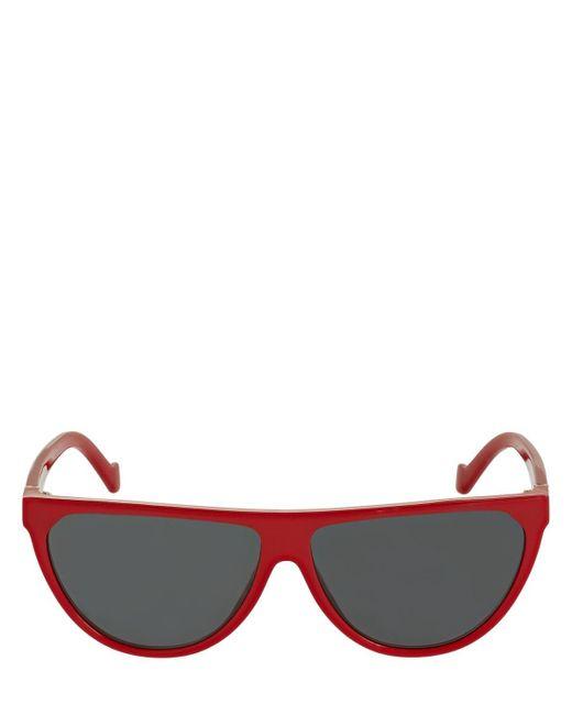 Loewe アセテートサングラス Red