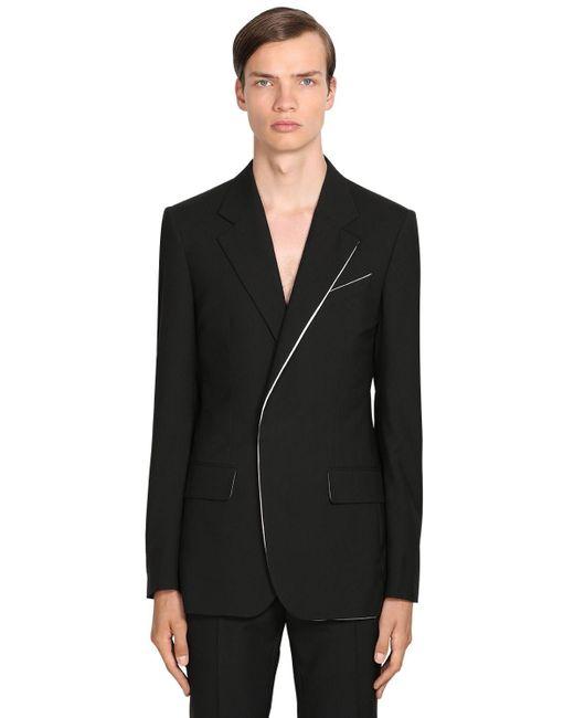 メンズ Givenchy ウールブレザー Black