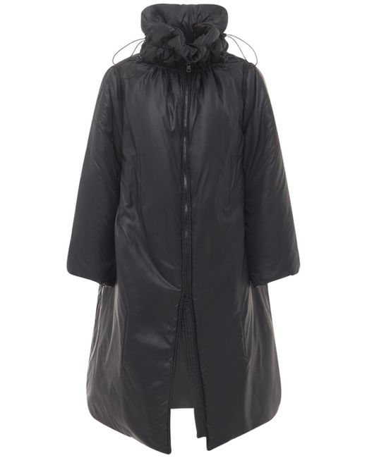 RED Valentino パデッドナイロンジャケット Black