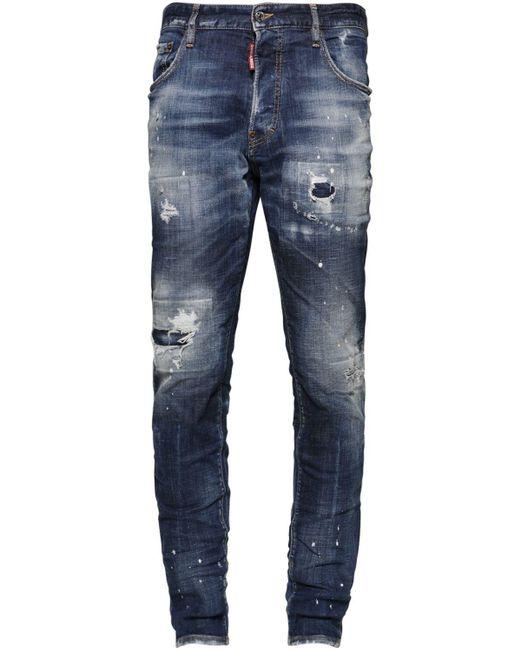 メンズ DSquared² Sexy Mercury コットンデニムジーンズ 16.5cm Blue