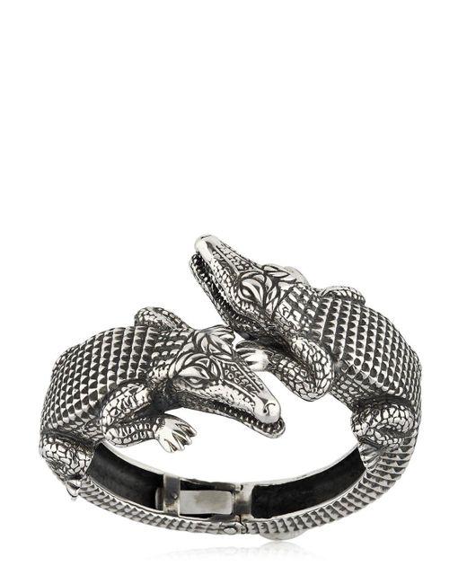 Cantini Mc Firenze - Metallic Kokko Twins Antique Finish Bracelet for Men - Lyst