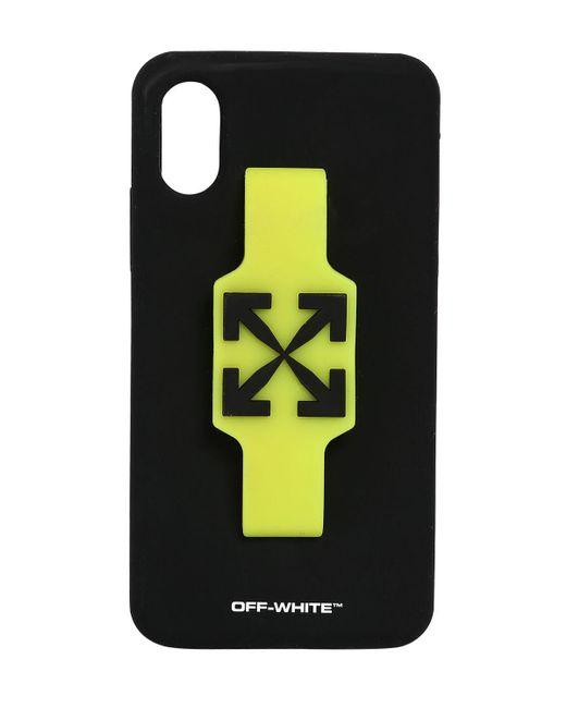 メンズ Off-White c/o Virgil Abloh Iphone X/xsカバー Black