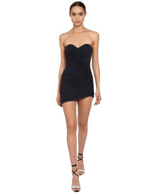 Платье Из Джерси Alexandre Vauthier, цвет: Black