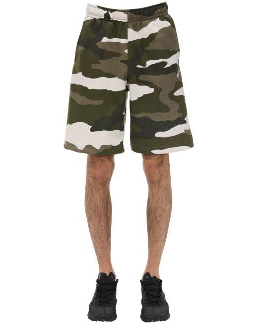 メンズ Nike Nsw Sportswear Club Camo ハーフパンツ Green