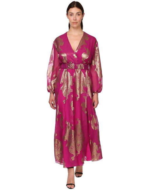 Marina Rinaldi ボイルフィルクーペドレス Multicolor