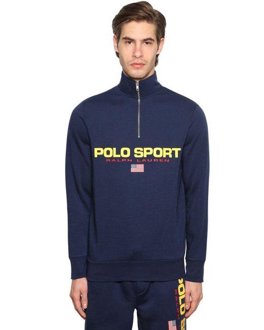 メンズ Polo Ralph Lauren スウェットシャツ Blue