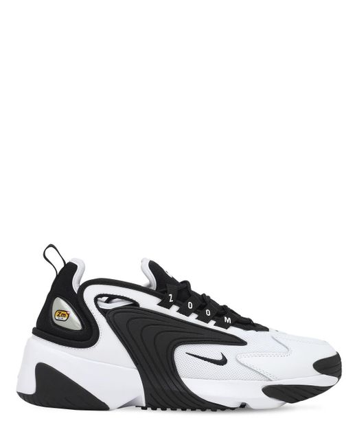 Nike Leather Zoom 2k in White (Black) - Save 73% - Lyst