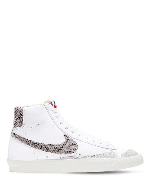 メンズ Nike Blazer Mid '77 Vntg We Reptileスニーカー White