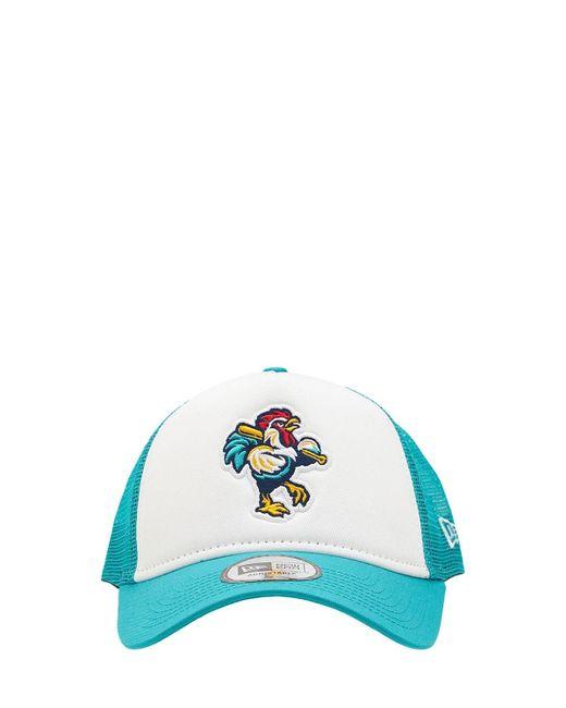 KTZ Blue Delmarva Shorebirds Trucker Hat for men