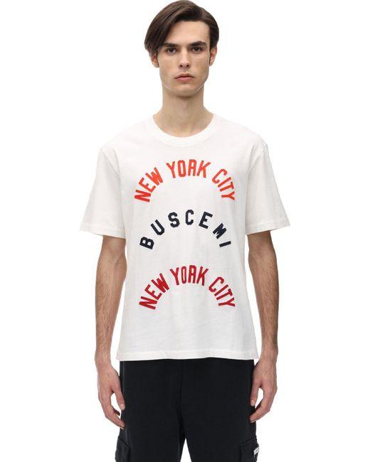 メンズ Buscemi コットンツイルtシャツ White