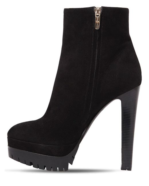 Sergio Rossi 130MM SUEDE ANKLE BOOTS 6unDvfB2tE