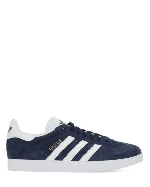 メンズ Adidas Originals Gazelle スニーカー Blue