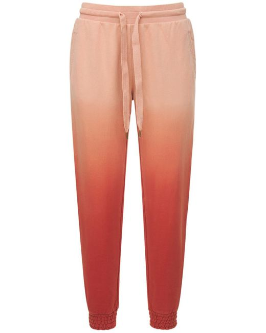 The Upside Orange Ombre Alena Track Pants