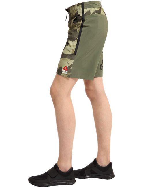 """Shorts Crossfit """"Super Nasty Tactical"""" di Reebok in Green da Uomo"""