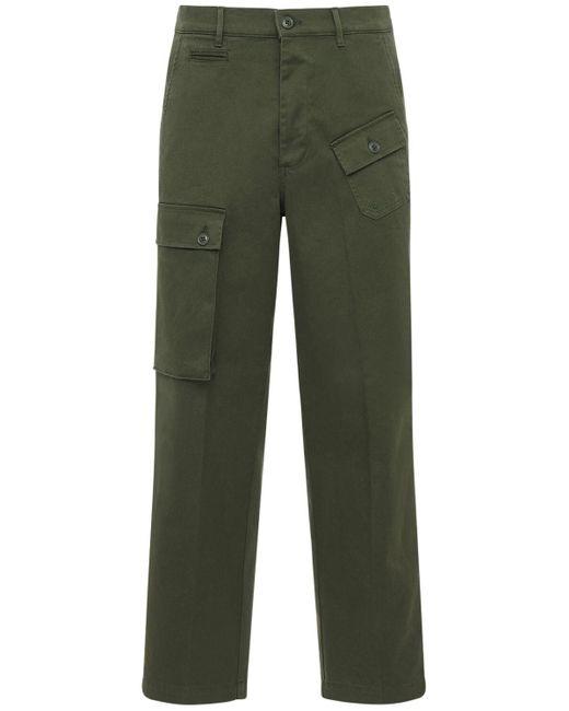 メンズ Department 5 コットンツイルカーゴパンツ Green