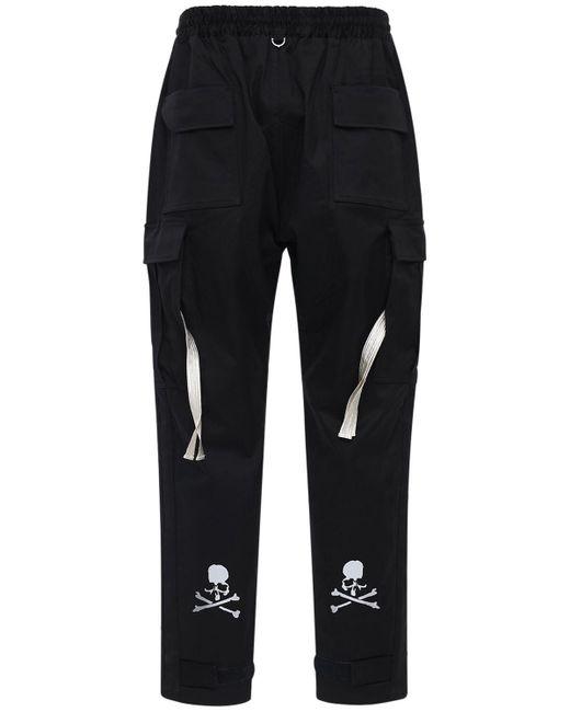 メンズ MASTERMIND WORLD コットンジャージーtシャツ Black