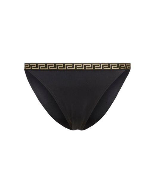 Versace ビキニボトム Black