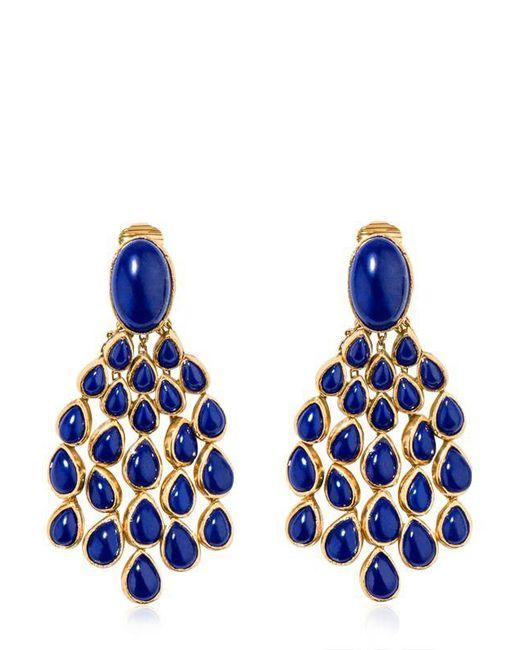 Aurelie Bidermann | Blue Cherokee Lapis Earrings | Lyst