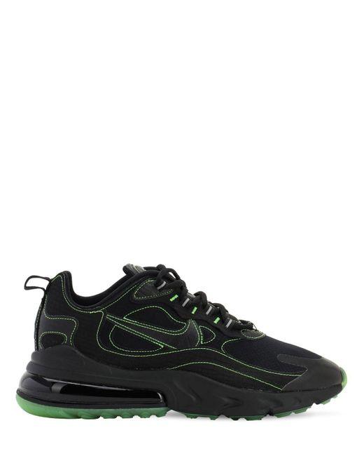 メンズ Nike Air Max 270 React Light Beige Chalk (w) Black