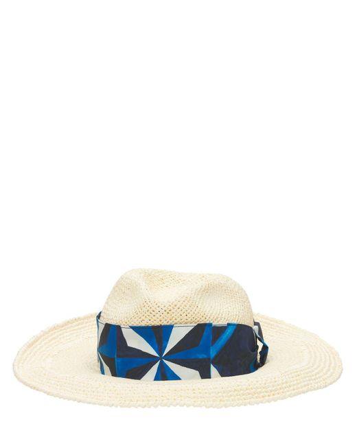 Шляпа С Шелковой Лентой Dolce & Gabbana для него, цвет: Natural