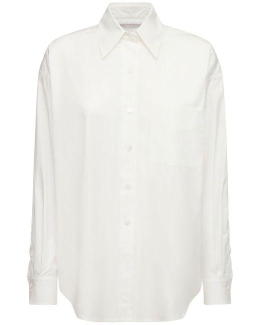 Emilia Wickstead Bayliebh ダブルコットンシャツ White