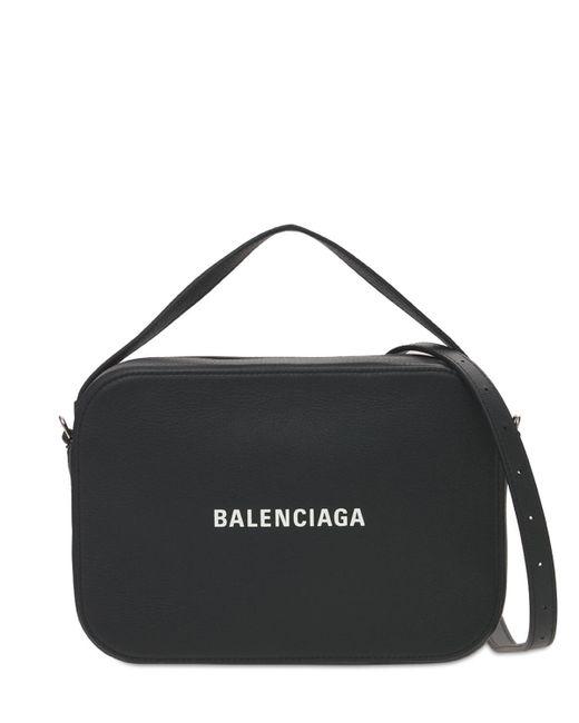 Balenciaga Everyday レザーバッグ Black