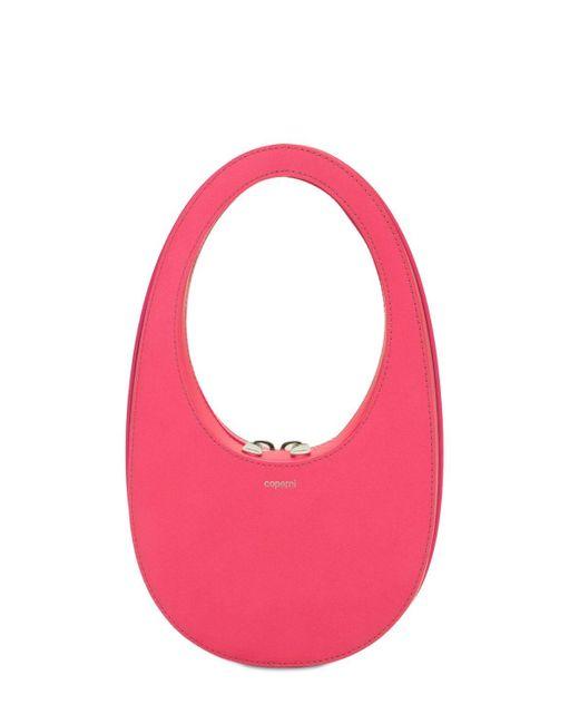 Coperni Swipe レザーバッグ Pink