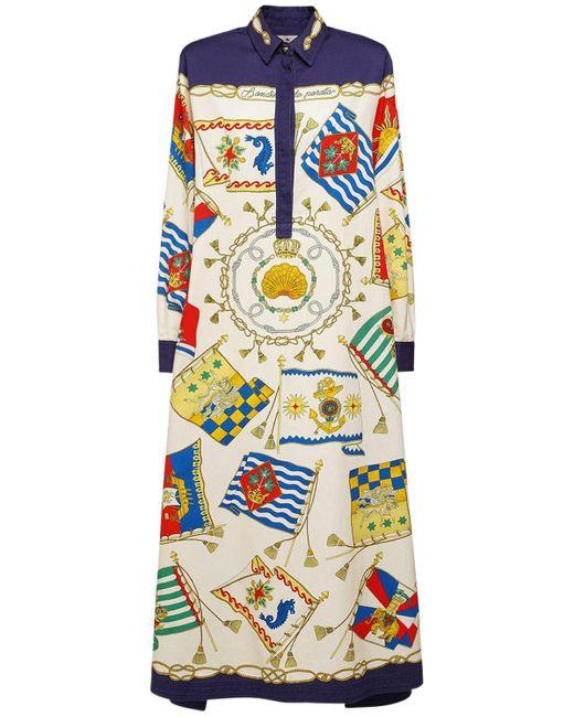Etro コットンツイルシャツドレス Multicolor