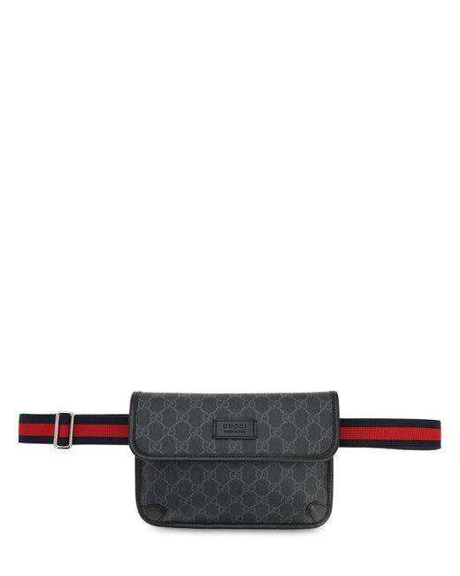 Сумка На Пояс Gg Supreme Gucci для него, цвет: Black