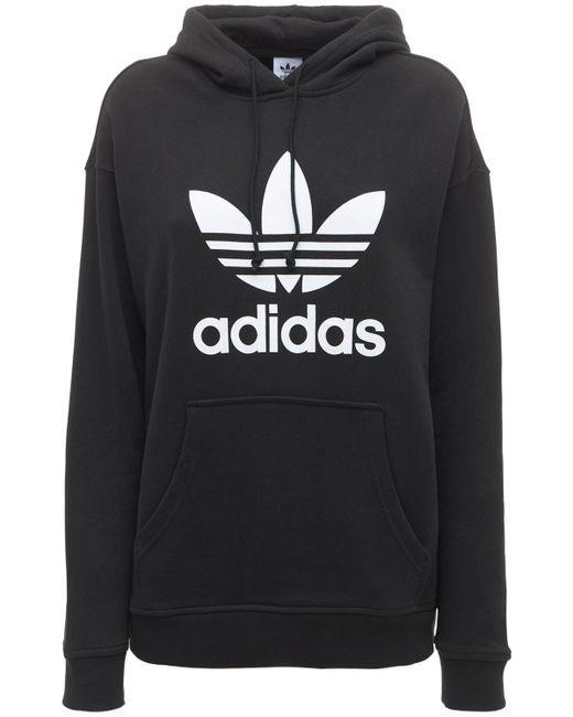 Adidas Originals Trefoil フーディー Black