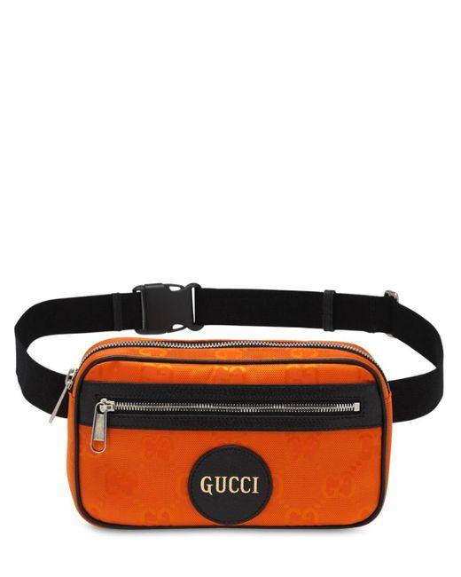 Сумка На Пояс Из Econyl Gucci для него, цвет: Orange