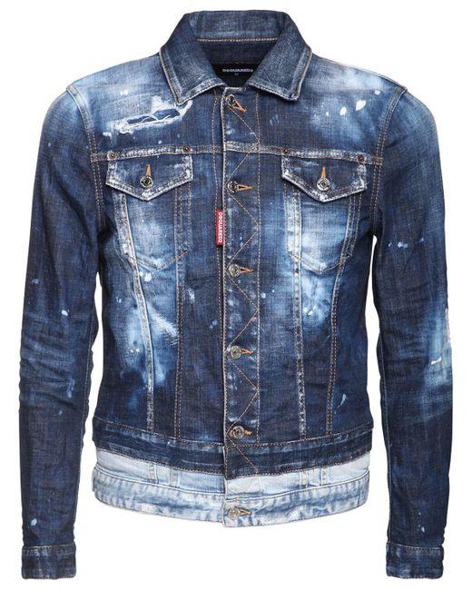 メンズ DSquared² デニムジャケット Blue
