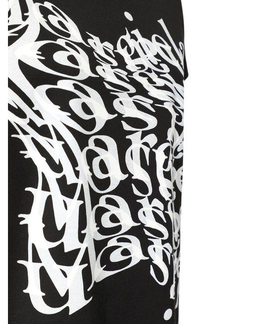 Maison Margiela コットンジャージーtシャツ Black