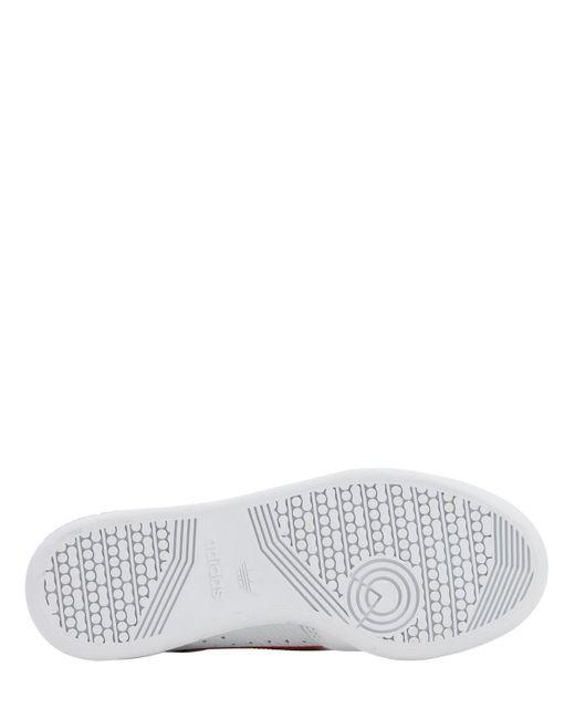 メンズ Adidas Originals ホワイト コンチネンタル 80 スニーカー White