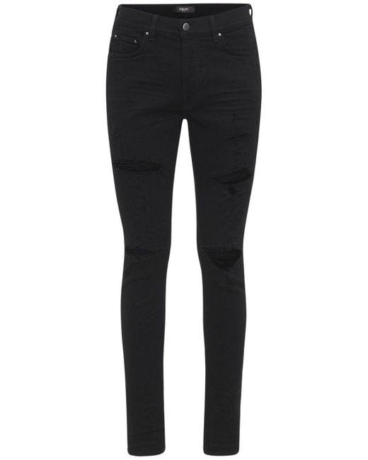 メンズ Amiri Thrasher Plus コットンデニムジーンズ 15cm Black