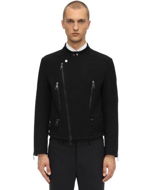 Пиджак Из Полушерстяного Джерси Neil Barrett для него, цвет: Black