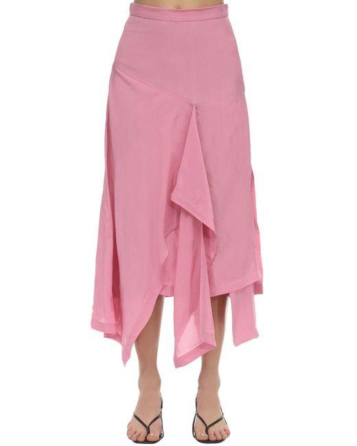 Colville ドレープスカート Pink