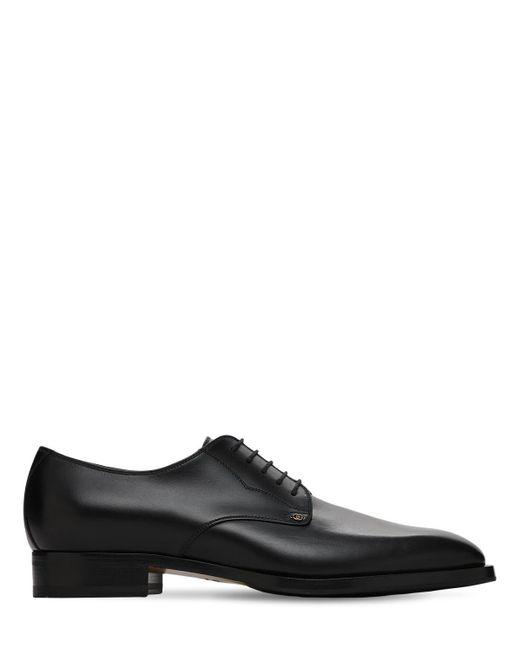 Кожаные Туфли 30mm Gucci для него, цвет: Black