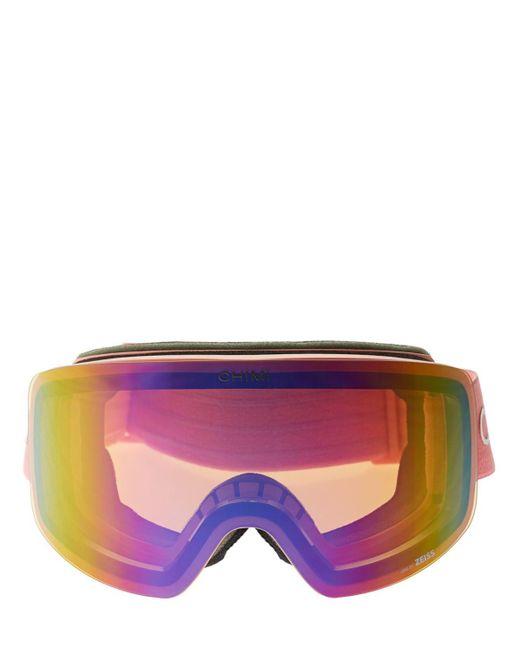 Chimi 01 Pink スキーゴーグル