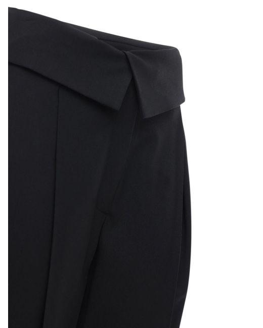 Кожаные Брюки Proenza Schouler, цвет: Black