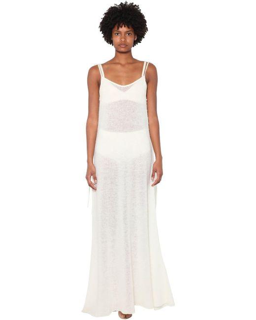 Alanui アルパカブレンドドレス White