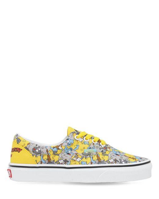 Кроссовки Simpson Comfy Cush Vans, цвет: Yellow