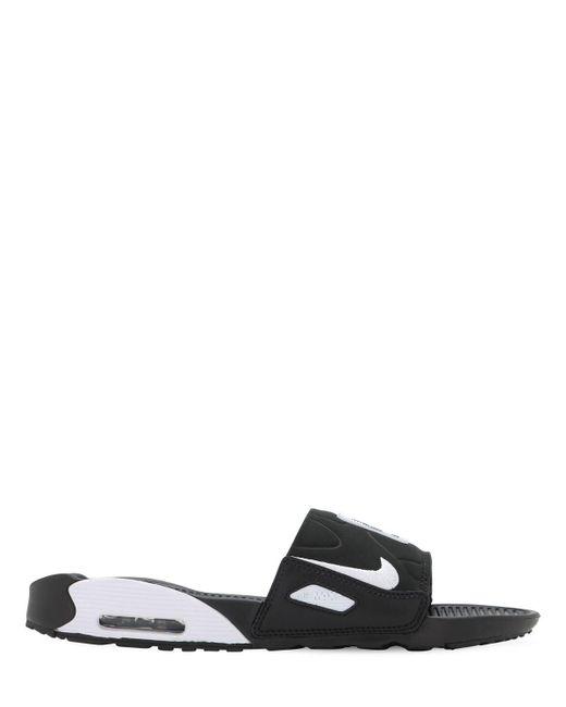 メンズ Nike Air Max 90 スライドサンダル Black