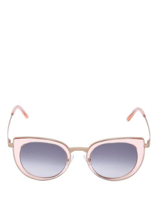"""Lunettes De Soleil Œil De Chat """"pawadi"""" PETER AND MAY en coloris Pink"""