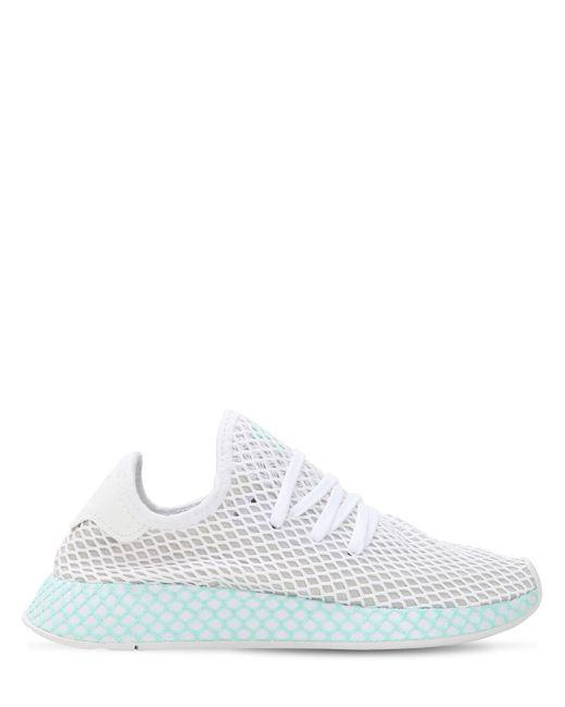 """Кроссовки """"deerupt"""" Adidas Originals, цвет: White"""