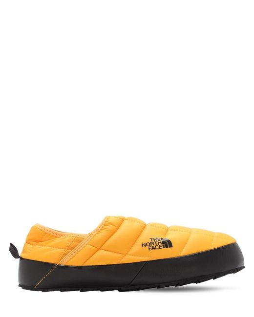 Мюли Thermoball Traction V The North Face для него, цвет: Yellow
