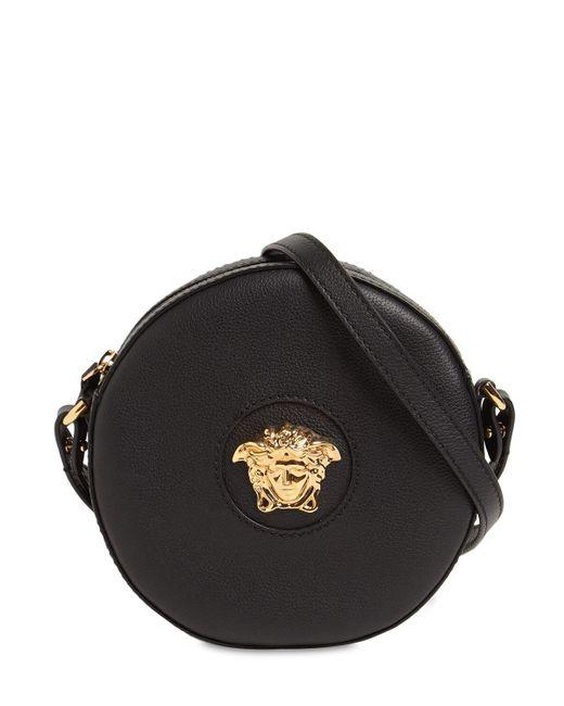 Сумка Через Плечо Medusa Из Кожи Versace, цвет: Black